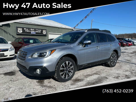 2016 Subaru Outback for sale at Hwy 47 Auto Sales in Saint Francis MN