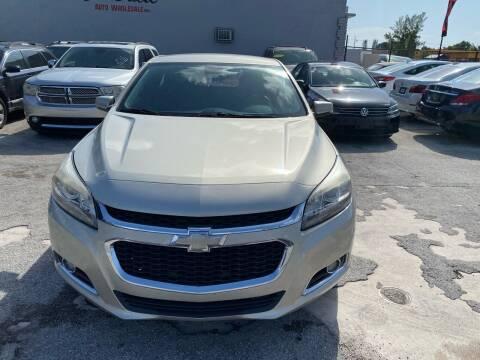 2016 Chevrolet Malibu Limited for sale at America Auto Wholesale Inc in Miami FL