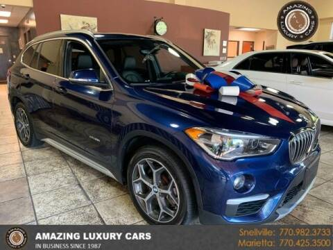 2017 BMW X1 for sale at Amazing Luxury Cars in Snellville GA