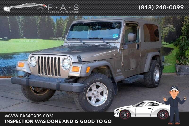 2005 Jeep Wrangler for sale at Best Car Buy in Glendale CA