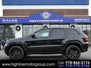 2019 Jeep Grand Cherokee for sale at Highline Group Motorsports in Lowell MA