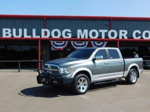 2012 RAM Ram Pickup 1500 for sale at Bulldog Motor Company in Borger TX