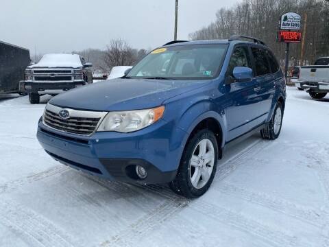 2009 Subaru Forester for sale at Pine Grove Auto Sales LLC in Russell PA