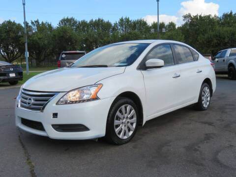 2015 Nissan Sentra for sale at Low Cost Cars North in Whitehall OH