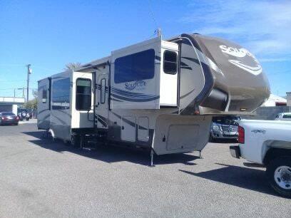 2014 GRAND DESIGN RV SOLITUDE M379FL for sale at 1ST AUTO & MARINE in Apache Junction AZ