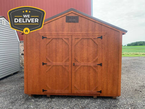 2020 DOUBLE H BUILDINGS 10X16 UTILITY SHED for sale at ADELL AUTO CENTER in Waldo WI