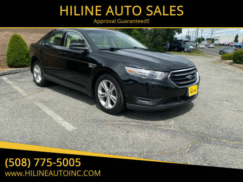 2014 Ford Taurus for sale at HILINE AUTO SALES in Hyannis MA