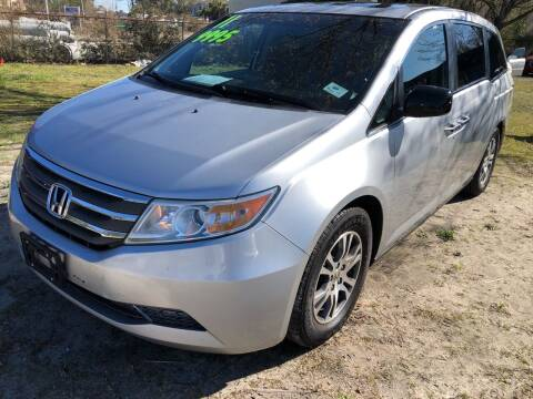 2011 Honda Odyssey for sale at County Line Car Sales Inc. in Delco NC