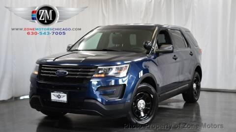 2017 Ford Explorer for sale at ZONE MOTORS in Addison IL