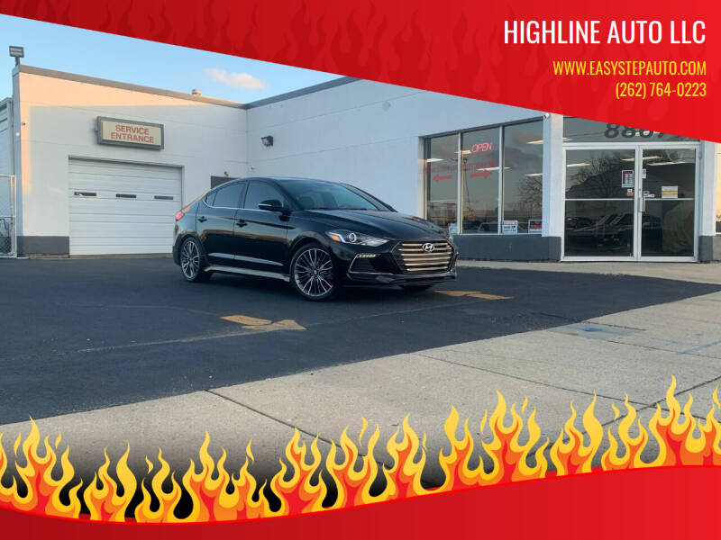 2017 Hyundai Elantra for sale at HIGHLINE AUTO LLC in Kenosha WI