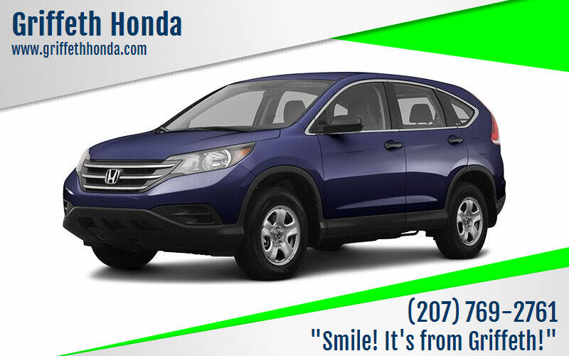 2012 Honda CR-V for sale at Griffeth Honda - Pre Owned in Presque Isle ME