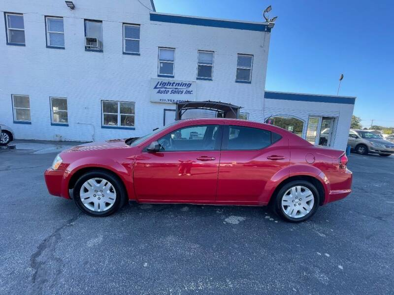 2014 Dodge Avenger for sale at Lightning Auto Sales in Springfield IL