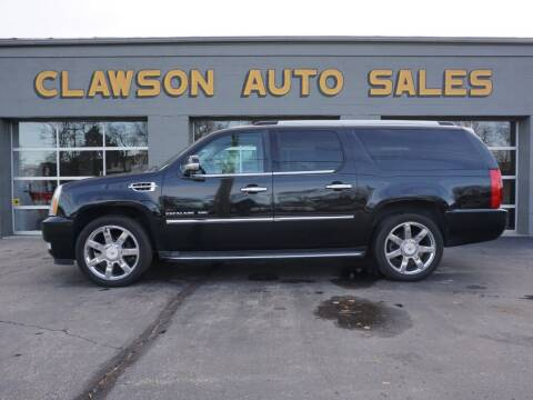 2010 Cadillac Escalade ESV for sale at Clawson Auto Sales in Clawson MI