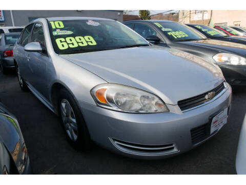 2010 Chevrolet Impala for sale at M & R Auto Sales INC. in North Plainfield NJ