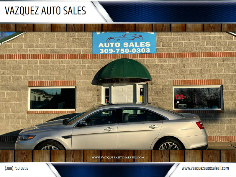 2015 Ford Taurus for sale at VAZQUEZ AUTO SALES in Bloomington IL