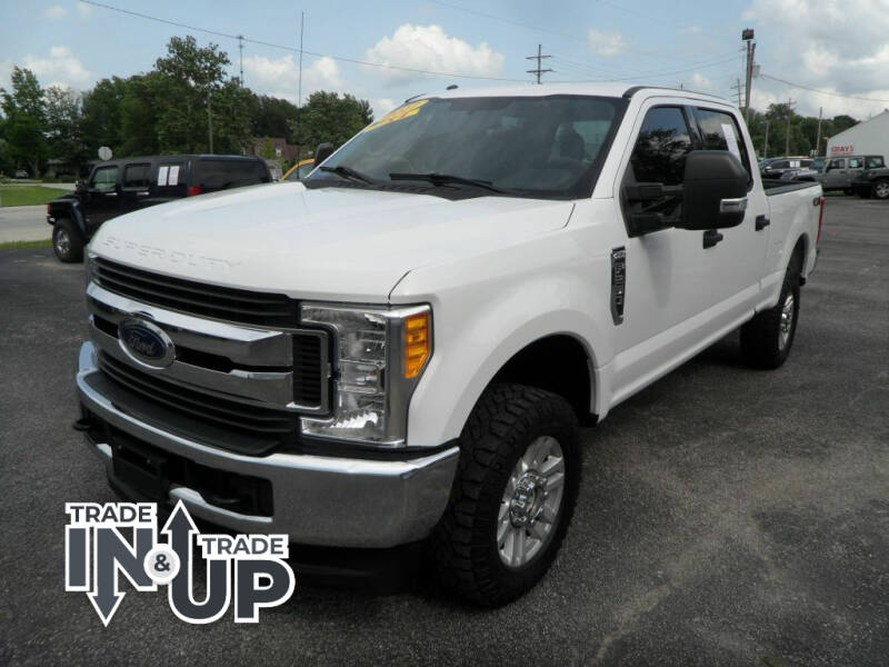 2017 Ford F-250 Super Duty for sale at CARSON MOTORS in Cloverdale IN