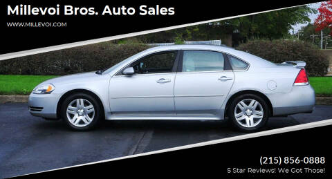 2012 Chevrolet Impala for sale at Millevoi Bros. Auto Sales in Philadelphia PA