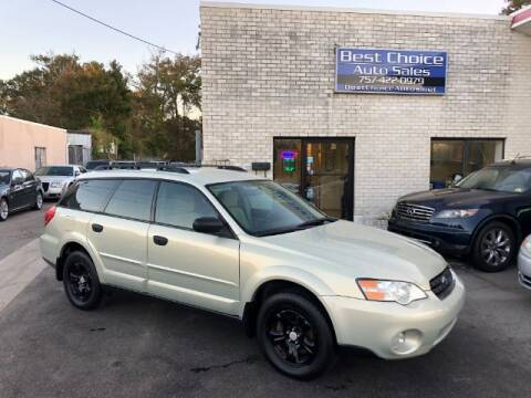 2007 Subaru Outback for sale at Best Choice Auto Sales in Virginia Beach VA
