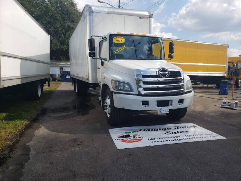 2016 Hino 268 for sale at Orange Truck Sales in Orlando FL