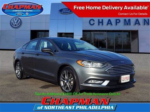 2017 Ford Fusion for sale at CHAPMAN FORD NORTHEAST PHILADELPHIA in Philadelphia PA