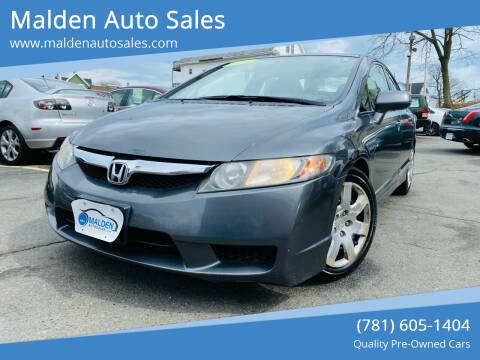 2011 Honda Civic for sale at Malden Auto Sales in Malden MA