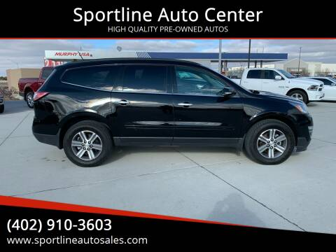 2017 Chevrolet Traverse for sale at Sportline Auto Center in Columbus NE