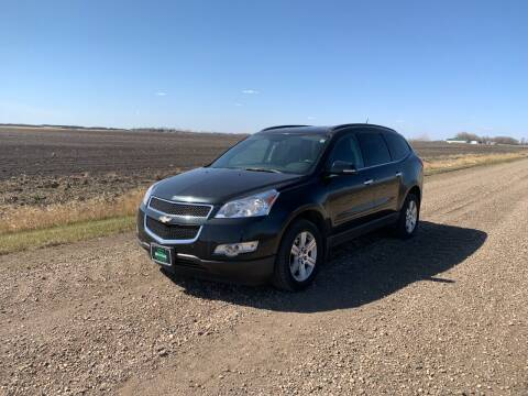 2012 Chevrolet Traverse for sale at HALVORSON AUTO in Cooperstown ND