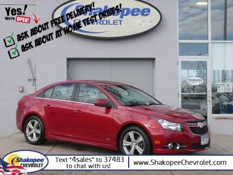 2014 Chevrolet Cruze for sale at SHAKOPEE CHEVROLET in Shakopee MN