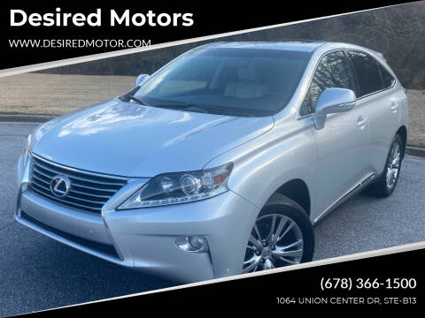 2013 Lexus RX 450h for sale at Desired Motors in Alpharetta GA