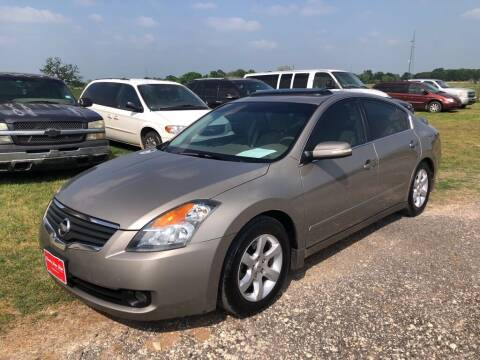 2008 Nissan Altima for sale at COUNTRY AUTO SALES in Hempstead TX
