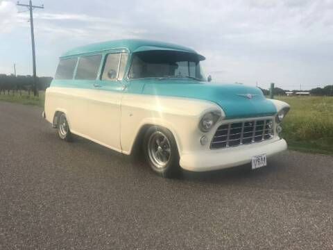 1959 Chevrolet Suburban for sale at Classic Car Deals in Cadillac MI