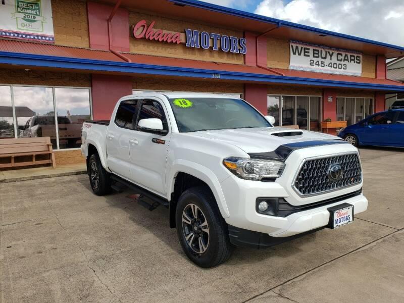 2018 Toyota Tacoma for sale at Ohana Motors in Lihue HI