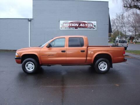 2000 Dodge Dakota for sale at Motion Autos in Longview WA