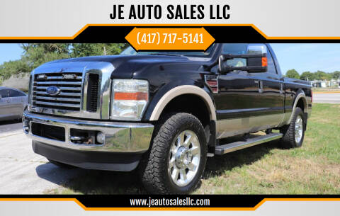 2009 Ford F-250 Super Duty for sale at JE AUTO SALES LLC in Webb City MO