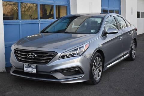 2015 Hyundai Sonata for sale at IdealCarsUSA.com in East Windsor NJ