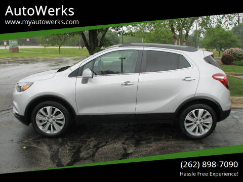 2018 Buick Encore for sale at AutoWerks in Sturtevant WI