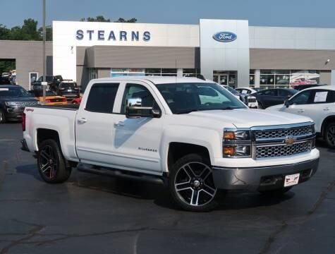 2015 Chevrolet Silverado 1500 for sale at Stearns Ford in Burlington NC