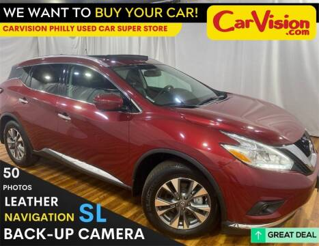 2017 Nissan Murano for sale at Car Vision Mitsubishi Norristown - Car Vision Philly Used Car SuperStore in Philadelphia PA