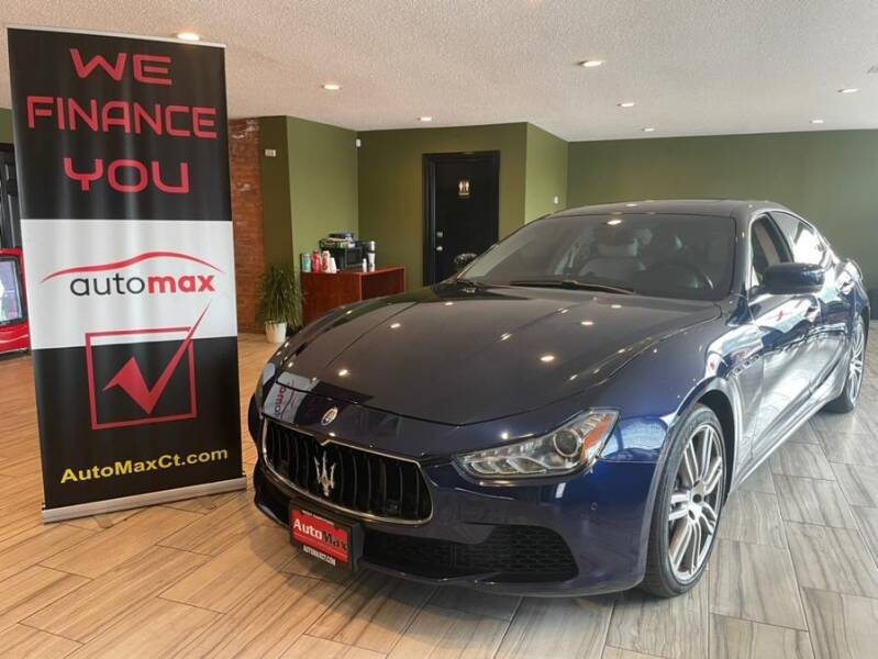 2014 Maserati Ghibli for sale at AutoMax in West Hartford CT