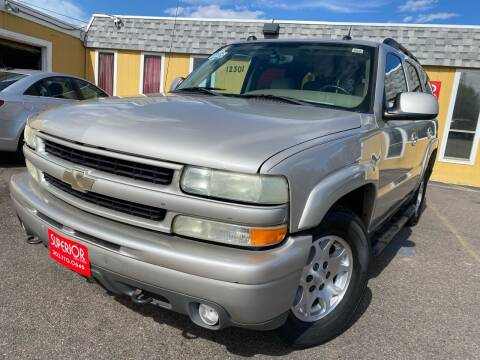 2004 Chevrolet Tahoe for sale at Superior Auto Sales, LLC in Wheat Ridge CO