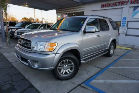 2003 Toyota Sequoia for sale at Industry Motors in Sacramento CA
