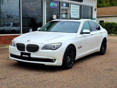 2011 BMW 7 Series for sale at Green Cars Vermont in Montpelier VT