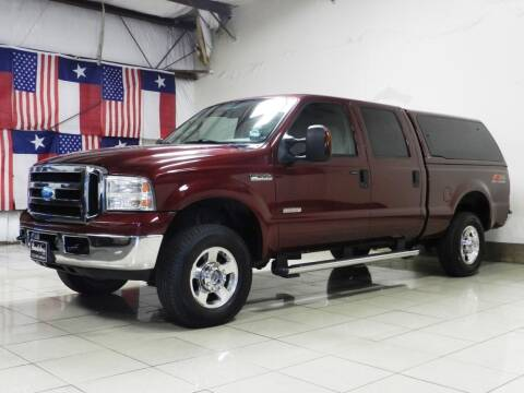 2006 Ford F-250 Super Duty for sale at ROADSTERS AUTO in Houston TX