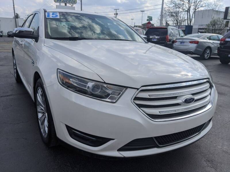 2015 Ford Taurus for sale at GREAT DEALS ON WHEELS in Michigan City IN