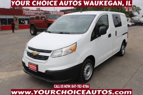 2016 Chevrolet City Express Cargo for sale at Your Choice Autos - Waukegan in Waukegan IL