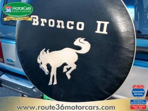 1985 Ford Bronco II