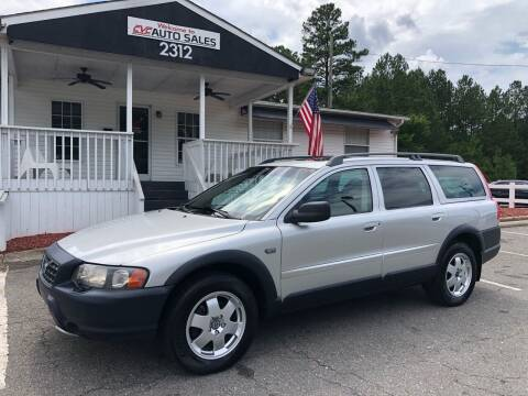 2003 Volvo XC70 for sale at CVC AUTO SALES in Durham NC