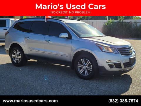 2015 Chevrolet Traverse for sale at Mario's Used Cars - Pasadena Location in Pasadena TX