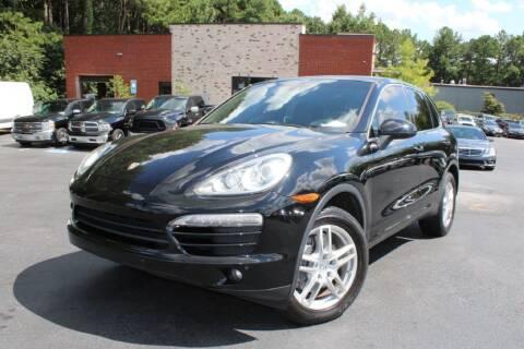 2014 Porsche Cayenne for sale at Atlanta Unique Auto Sales in Norcross GA