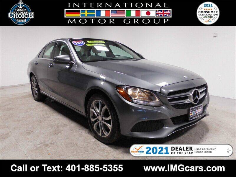 2017 Mercedes-Benz C-Class for sale at International Motor Group in Warwick RI